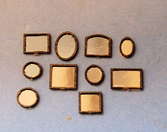 1/144th inch scale miniature-Set of Mirrors
