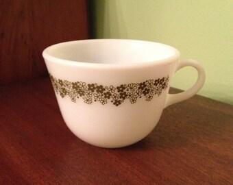 Vintage Pyrex Spring Blossom Mug Coffee Cup
