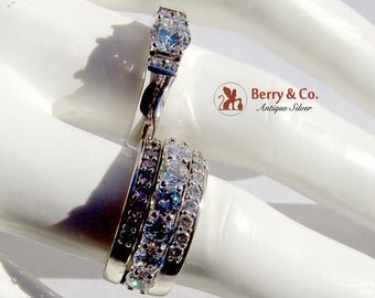 SaLe! sALe! Stackable Dazzling Rings Sterling Silver CZ