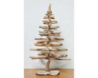 Albero di Natale con legni di mare - Driftwood Christmas Tree