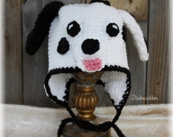 Dalmatian hat (on order)
