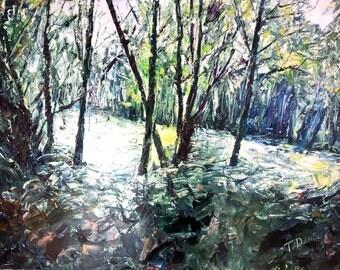 Hourtin - Oil on canvas - 92x65cm
