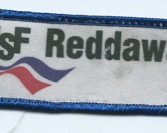 USF Reddaway Truck Lines driver patch 1-1/2 X 4-1/2