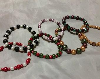 GRAB BAG Glass Pearl Bracelet