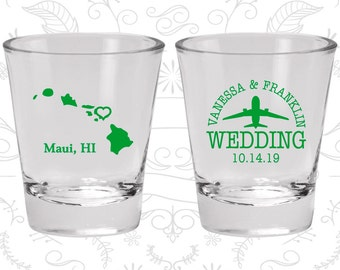 Hawaii Shot Glass, Hawaii Shot Glasses, Hawaii Glass, Hawaii Glasses, Hawaii Glassware (110)