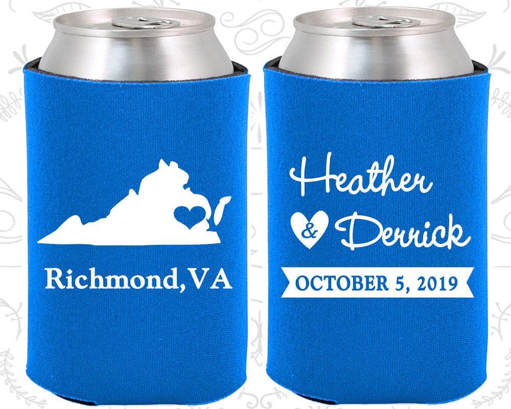 Wedding Gift For Destination Wedding: Virginia Wedding Gifts Coolies Destination Wedding Favors