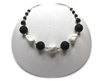 White Volcano Necklace