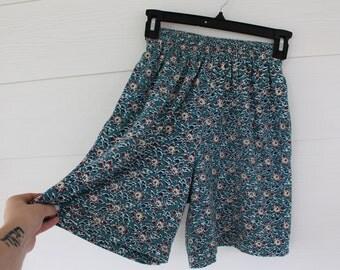 High Waist Cotton Shorts- XS/S