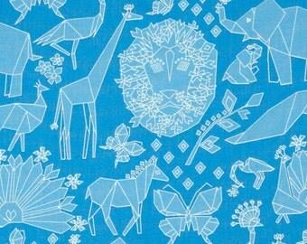 Michael Miller Fabrics - Fold Blue - DC6399-BLUE-D