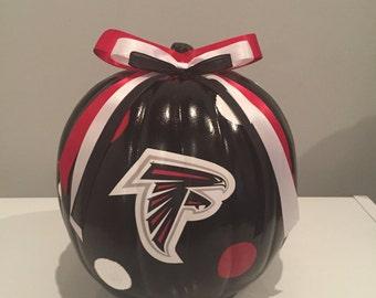 Atlanta Falcons craft pumpkin