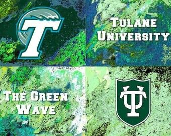 Walhol's Tulane University Logo