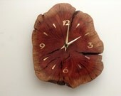 Ooak Hand Crafted Manzanita Root From Florida USA.  Wall Clock.