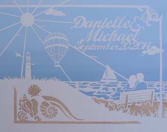 Wedding Papercut