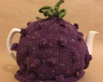 Blackcurrant Tea Cosy - Tea Lovers Gift - Christmas Gift