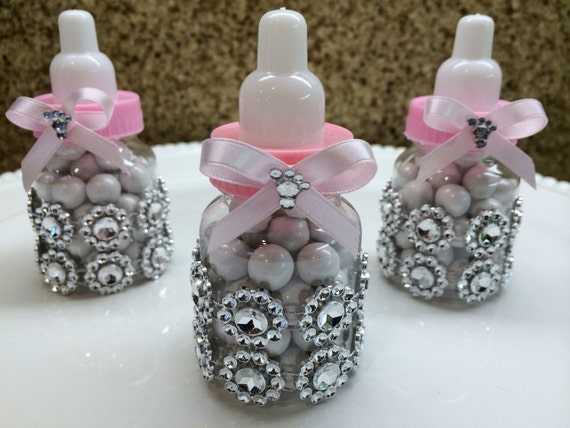 12 baby shower bottle favors baby bottles by thecandybarn