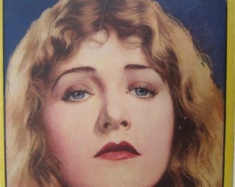 Original August 1924 Betty Compson Photoplay Magazine Cover - Hollywood's Golden Age - Free Shipping