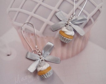 earrings shabby cupcakes
