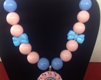 Big Sister Bubblegum Necklace
