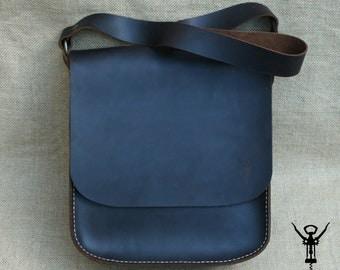 100% Handmade Leather Shoulder Bag
