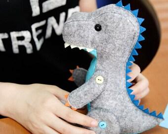 Dragon Godzilla Action Figure Children's /Kids Toy Boys Toy  Felt Toy