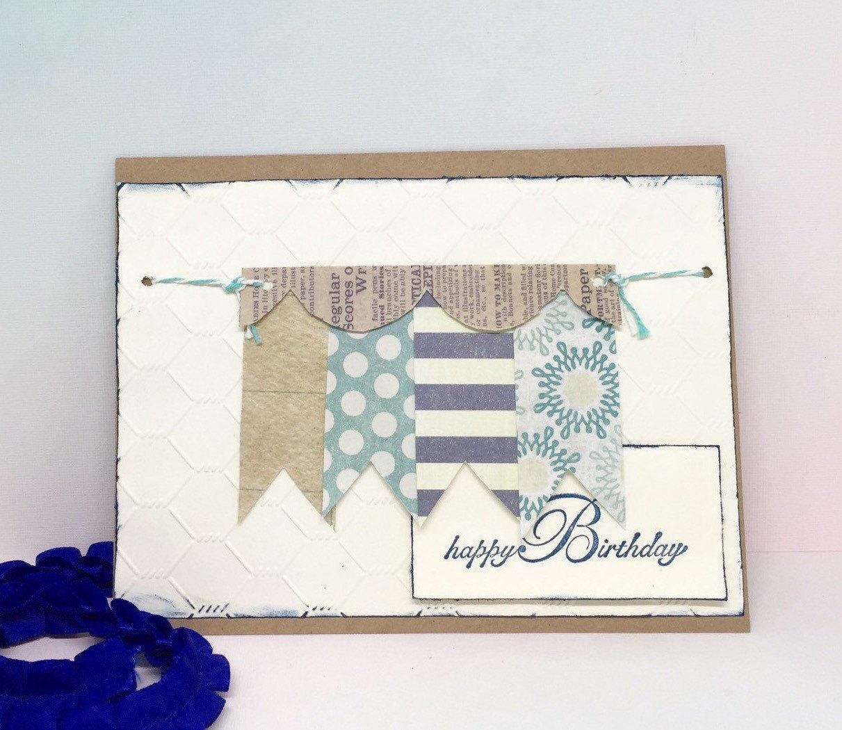 Birthday Card For Boyfriend Paper Handmade Greeting Card