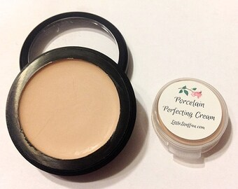 PORCELAIN Perfecting Cream Natural Foundation - Creamy Foundation Concealer - Makeup Samples or Full Size
