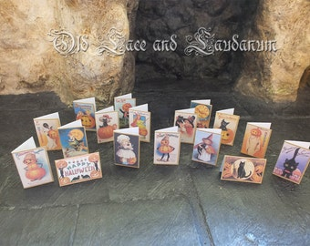 Halloween Art Doll Cards