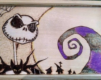 Nightmare Before Christmas Jewelry Box with drawers