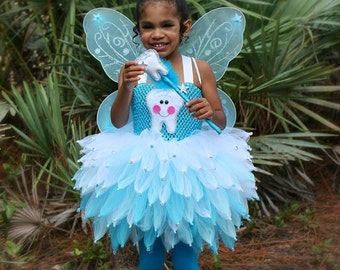 Tooth fairy costume/ fairy costume/ Tooth fairy tutu/ tinker bell tutu/ tinker bell costume/ Halloween costume/ tooth fairy dress