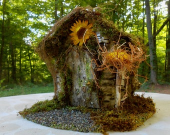 Faerie House Strawflower Faerie's Home