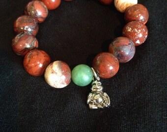 Yoga inspired beaded bracelet