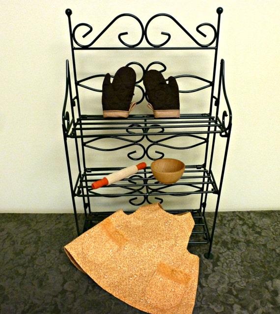 american girl doll kitchen set 18 inch doll apron pot. Black Bedroom Furniture Sets. Home Design Ideas