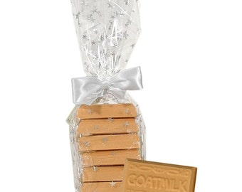 Goat Milk Almond Biscotti Guest Soap - 6 Individually Wrapped Soaps