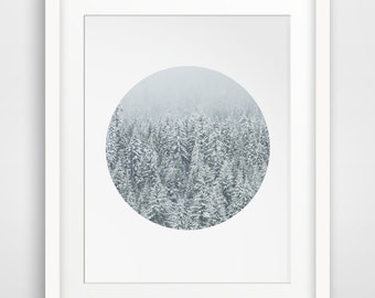 Snow Photography, Winter Decor, Winter Photography, Snow Prints, Christmas Wall Art, Winter Art, Printable Snow Art, Printable Christmas