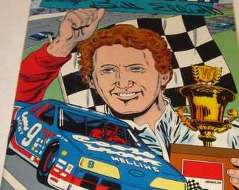 The Legends of NASCAR Starring BILL ELLIOTT-1990 Collector's Edition Comic -Perfect Condition