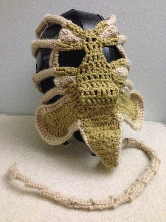Xenomorph Alien Facehugger Face Warmer PDF Patern