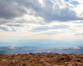 Pikes Peak, Rocky Mountains, Colorado, mountain art, mountain print, mountain photo, colorado art, colorado photo, colorado print, photo