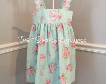 Girls Easter Dress, Girls Dresses, Easter Dress, Baby Easter Dress, Baby Girls Floral Dress, Baby Girls Lace Dress, Girls Dress, Summer dres