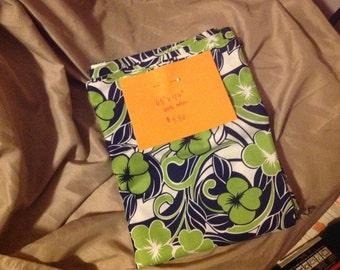 1.5+ Royal blue and Kelly green Haiwaiian cotton