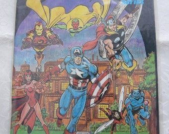 FantaCo Chronicles History of the Avengers 1982 Marvel Comic Book