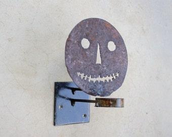 Candlelit Halloween sconce   Halloween Silhouette   Jack-O-lantern