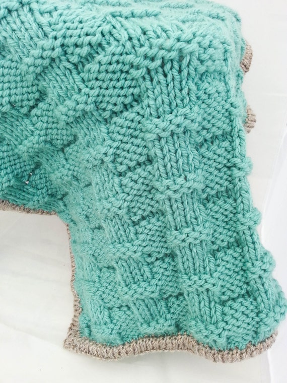 Knitting Pattern Super Chunky Baby Afghan Baby Blanket