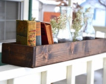 Set of Two Rustic Wood Box Centerpiece,Wedding Centerpiece,Rustic Centerpiece,Candle Holder, Long Wood Box, Wedding Table, Thanksgiving