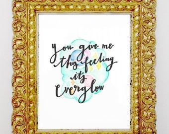 Everglow Print