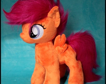 My little pony  filly scootaloo