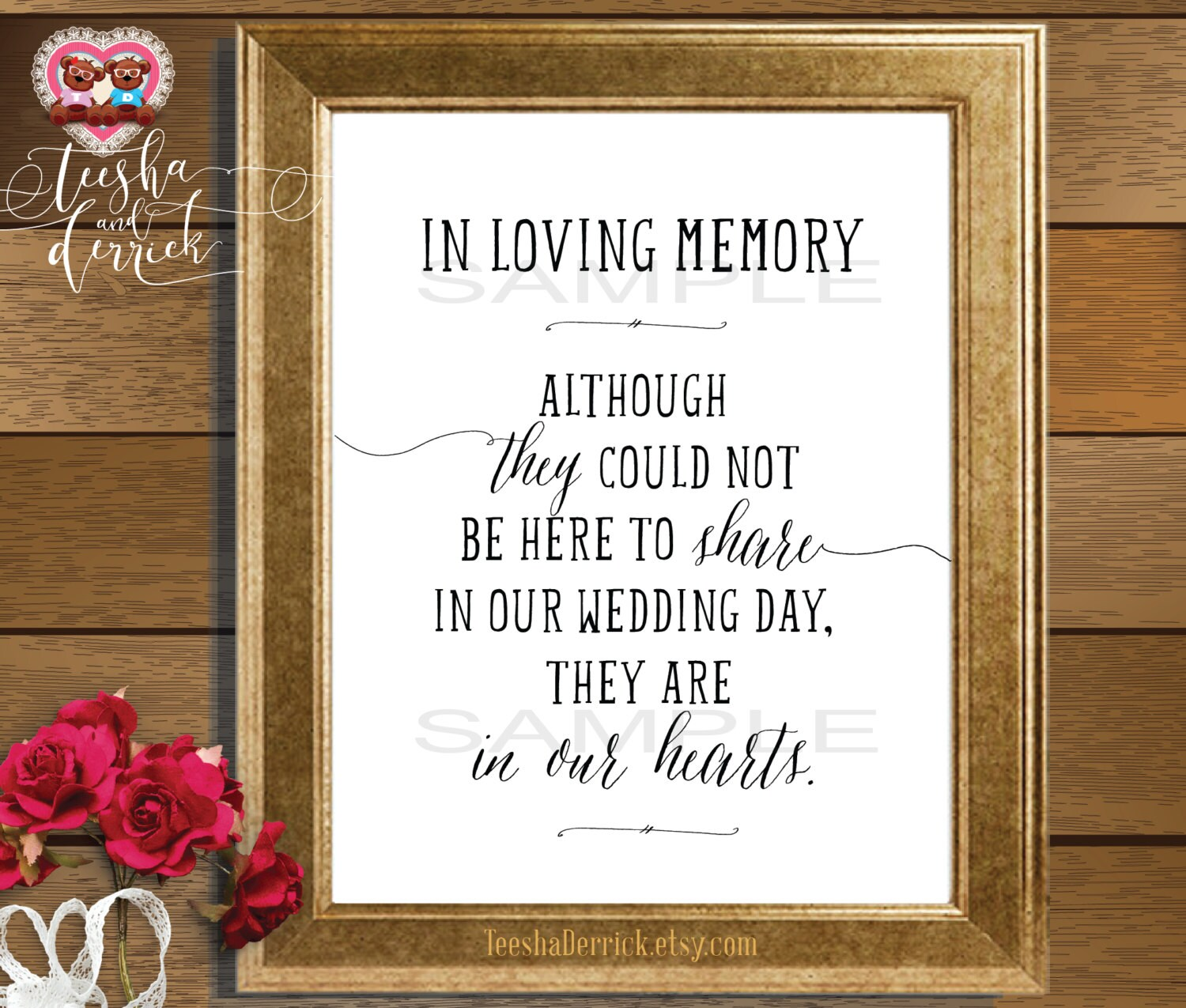 Instant download printable in loving memory by teeshaderrick for In loving memory free printable