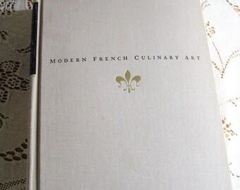 Vintage Modern French Culinary Art Cookbook Cook Book 1966 1st Edition Henri-Paul Pellaprat