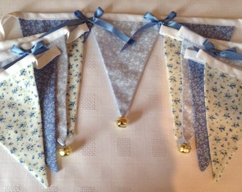Double sided Fabric Bunting