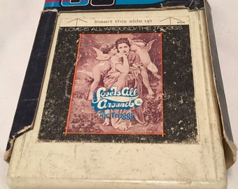 Rare 8-Track Tape: Love is All Around, The Troggs 1968 Classic Hit