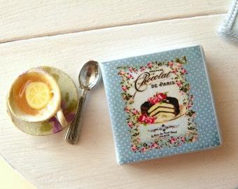 recipe miniature book